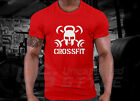 Crossfit GYM T-shirt WOD Functional Training Sport Workout Fitness Strength