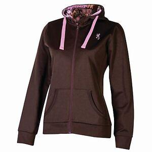 Browning-Womens-Performance-Heathered-Full-Zip-Jacket