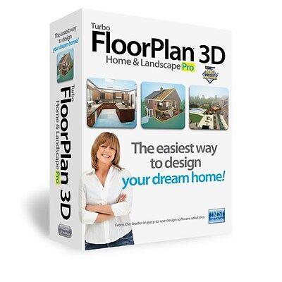 Turbo Floor Plan 3D Home & Landscape Pro 16 Turbo floorplan CAD Design Software