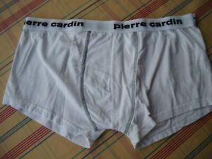 1 Pierre Cardin Herren-Boxershort  Gr. 8 weiß mit Ziernaht