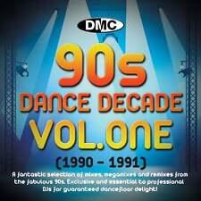 DMC Dance Decade Vol 1 1990 - 1991 Hits of the Nineties Mixes DJ CD Megamixes