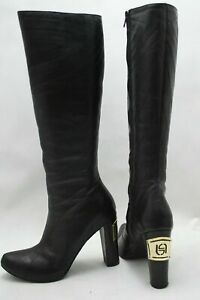 100 % Leather High Heel Boots UK size