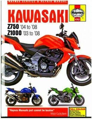 Haynes Kawasaki 2004-2008 Z750 and 2003-2008 Z1000 Motorcycle ... kawasaki ignition switch resistor eBay