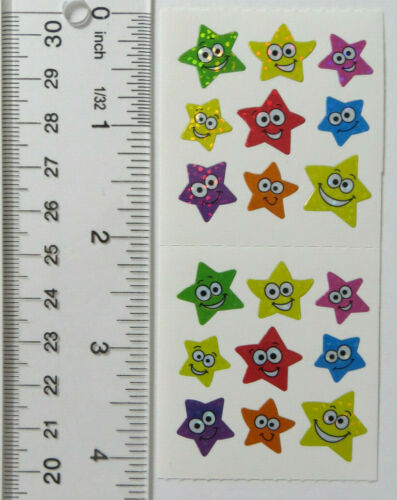 Sandylion HOLIDAYS STARS WINTER Vintage Strips of 2 Squares #ST-05 You Choose