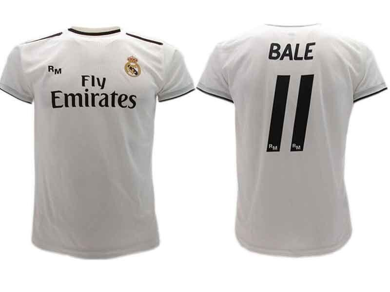 93bee1a3246 Maglia Ufficiale BALE Real Madrid Ufficiale n.11 GARETH Camiseta 2018-2019  nqimgw1267-Squadre italiane