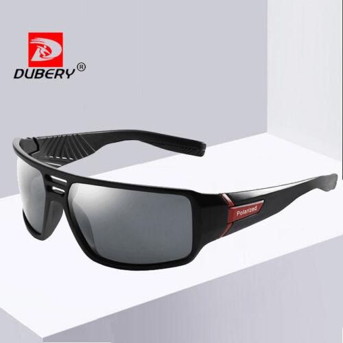 DUBERY Men Polarized Sport Sunglasses Ourdoor Driving Fishing Glasses New 2020