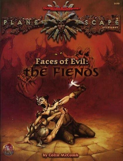 Cocheas de mal  los fanáticos EXC +  Planescape demonios AD&D D&D TSR Dungeons Dragons