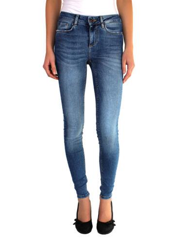 Vero Moda vmlux Damen Jeans skinny Jeanshose slim high waist Hose Used Stretch