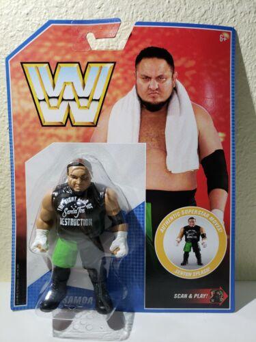 WWE Mattel Rétro Série 9 Samoa Joe Comme neuf on Card WWF