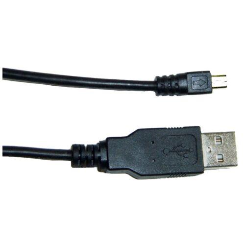 Cable USB para Panasonic Lumix DMC fx77 cable de datos cable data