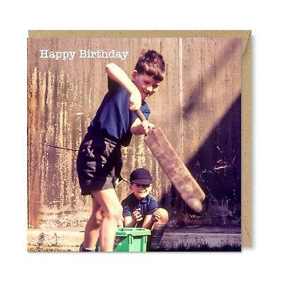 Funny Unique Vintage Retro Birthday Card Gift The Birds by Honovi