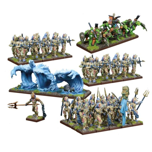 Mantic Games Kings of War - Trident Realms of Nauritica Army - MGKWR101