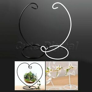 Glass-Ball-Hanging-Stand-Holder-Flower-Plant-Pot-Terrarium-Container-Candlestick