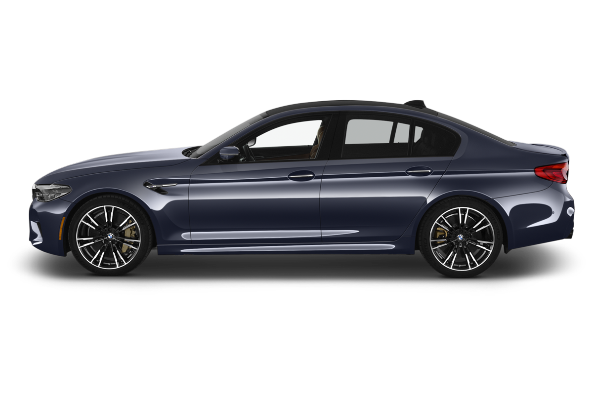 BMW M5 side view