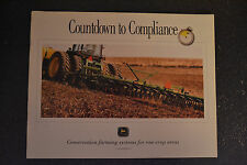 John Deere Brochure - Countdown to Compliance Conservation Farming Systems  1992