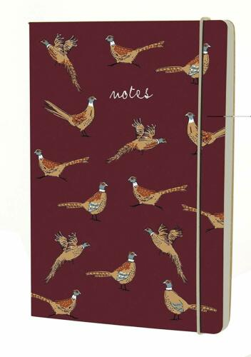 A5 Notebook Woodland Kraft Pheasant Go Stationery Pack of 2 Notepads