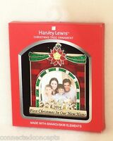 Harvey Lewis 2014 First Christmas In Home Fireplace Photo Holder Ornament