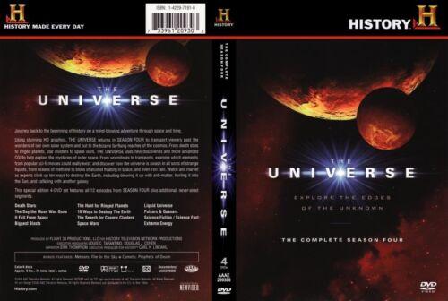 1 of 1 - The Universe : Season 4 (DVD, 2011, 4-Disc Set) Region 4