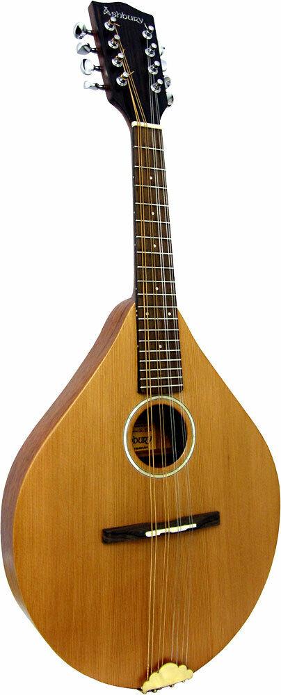 Ashbury AM-140 MANDOLIN, Solid Cedar top, solid body. From Hobgoblin Music
