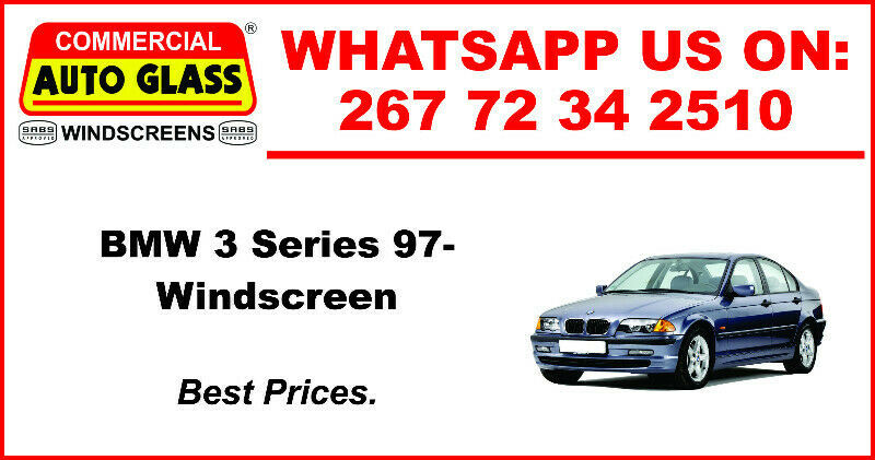 Windscreen For BMW 3 Series 97 For Sale.