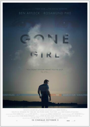 Gone Girl Ben Affleck Classic Movie Poster Art Print A0 A1 A2 A3 A4 Maxi