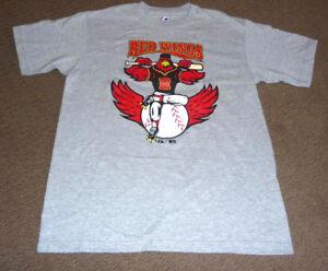 Rochester Red Wings Baseball Minnesota Twins T Shirt Brand New