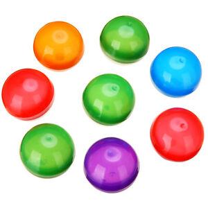 10x-Automaten-Leere-Runde-Spielzeug-Kapseln-mischen-Farbe-32mm-Durchmesser