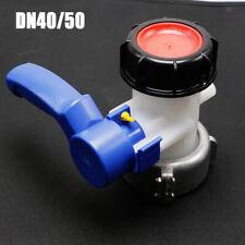 IBC Adapter 62mm//75mm S60x6 Grobgewinde Kugelhahn Auslaufventil Regenwassertank