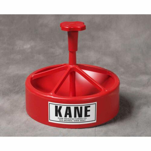 """Kane Low-Profile Snap Feeder with J-Hook 2-3//4/"""" Red KSF-LP"""