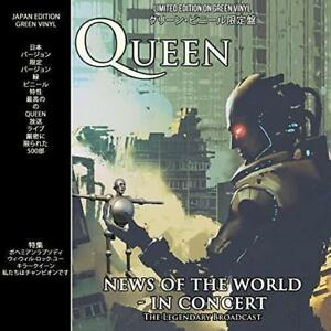QUEEN-News-Of-The-World-In-Concert-Limited-Edition-Green-Vinyl-LP-Album-NEW-RARE