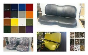 Outstanding Details About John Deere Gator Bench Seat Covers Xuv 855D In Solid Black Or 45 Colors Machost Co Dining Chair Design Ideas Machostcouk
