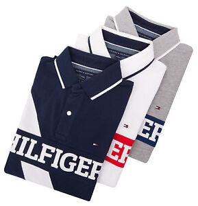 Tommy-Hilfiger-Men-Custom-Fit-Pique-Logo-Polo-Shirt-0-Free-Ship