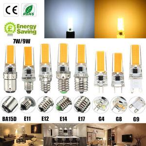 Lampada e12 e11 g8 ba15d e14 g4 g9 led bulb cob dimmable for Lampadine g9 led