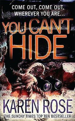 1 of 1 - You Can't Hide (The Chicago Series Book 4), Rose, Karen, New Book