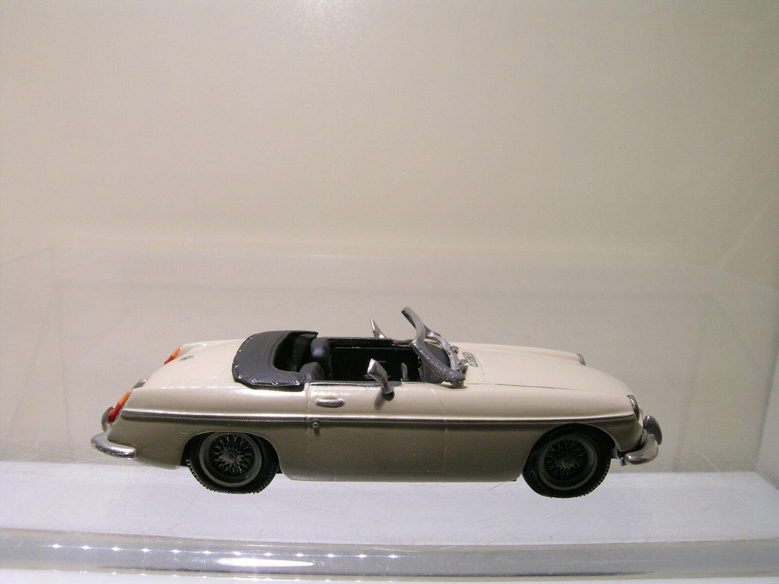 TOP MARQUES modelloS MGB MG B stradaSTER 1965 CREAM CREAM CREAM  bianca-METAL HeBUILT 1 43 222b2b