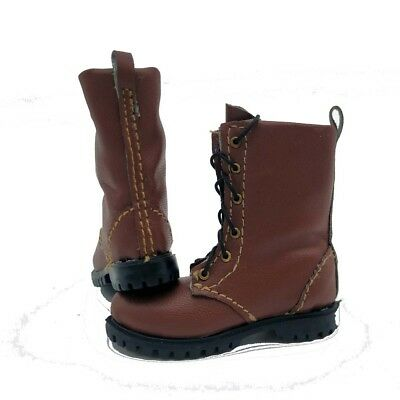 1//6 Male Tactical Shoes Combat Warrior Boots Soft Hollow Soldier Figure Toy