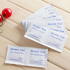 10-100X-Disposable-Alcohol-Wipe-First-Aid-Medical-Hospital-Multi-Purpose-Supply