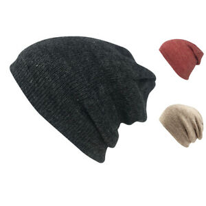 43aa21669e7a2c Image is loading Casaba-Winter-Double-Layer-Beanies-Toboggan-Washed-Skull-