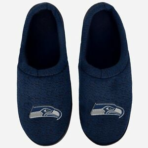 f87fb6af9c5 Image is loading NFL-Poly-knit-Cup-Sole-Slide-Slippers-Seattle-