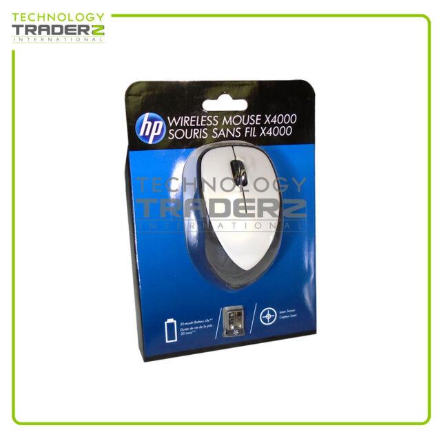 3713741dc24 F/S HP H2F47AA x4000 Linen Wireless Mouse w/ Laser Sensor * Factory Sealed