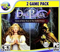 Dark Parables: Curse of Briar Rose Jewel Case (PC, 2011) Video Games