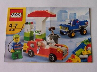 5898 Elegantes Und Robustes Paket Instruction Nr AnpassungsfäHig Lego® Bauanleitung
