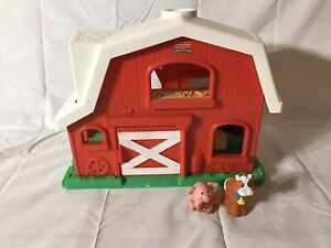 Fisher Price Little People Animal Sounds Barn Farm 2 ...