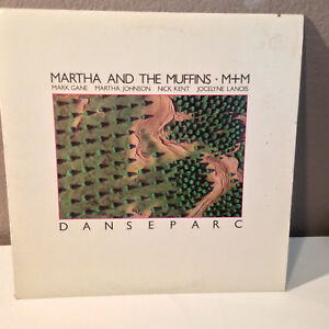 "MARTHA AND THE MUFFINS - Danseparc - 12"" Vinyl Record LP - EX"