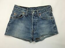Womens Levi 501 Reworked Denim Hotpants/Shorts - W27 - Navy - Great Condition