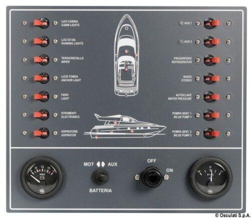 Verkleidung A Magneto für Boot Motor Marke Osculati 14.809.00