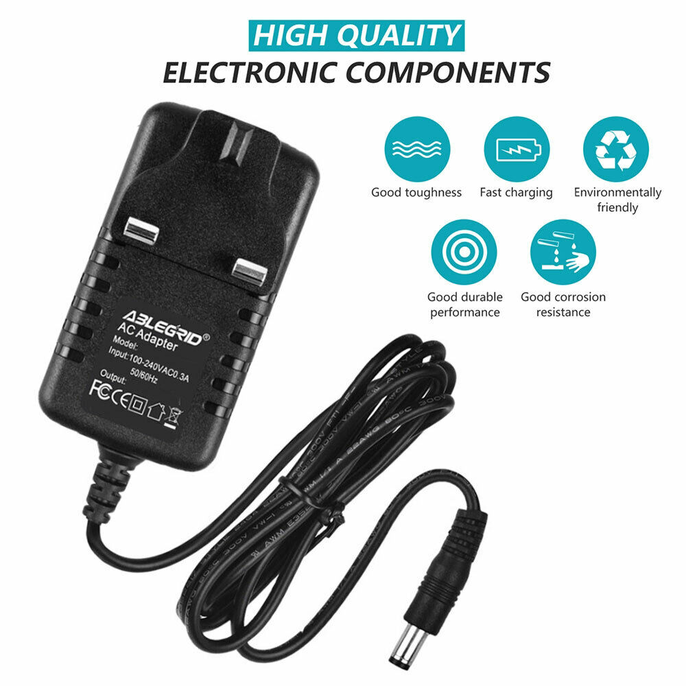 9V Adapter Power Supply Charger for Tesco T7PDVD113 Portable DVD Player Mains UK