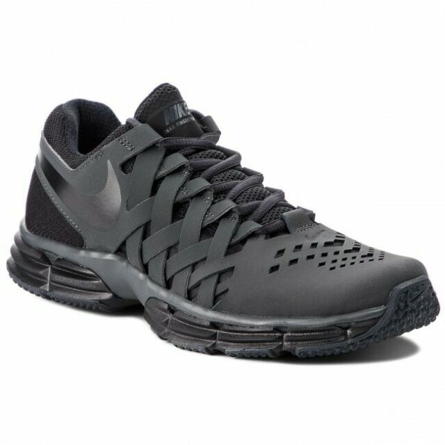 Nike Mens Lunar Fingertrap TR Training Shoes Greyblack Finger Trap US 7