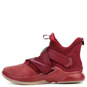 17f2efb4677fc 2018 Nike Air Lebron XII Soldier SZ 9.5 Team Red Light Gum Brown ...