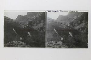 Cascade Tlemcen Algeria Foto Placca P9T6n Vintage Stereo